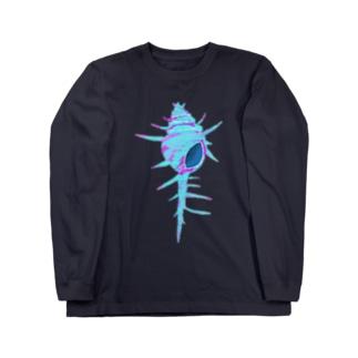 貝殻の記憶 Long sleeve T-shirts