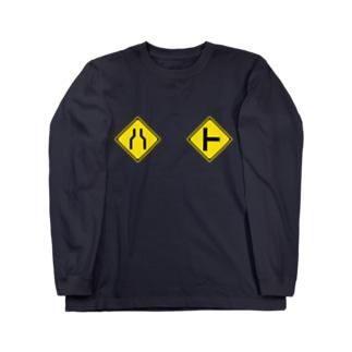 ハト胸 Long sleeve T-shirts