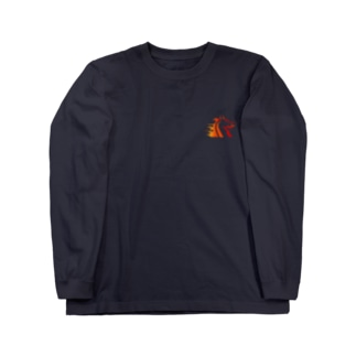BBdesignの馬6 Long sleeve T-shirts