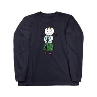 クラリネット Long sleeve T-shirts