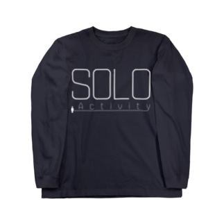 SOLO Activity [White] Long sleeve T-shirts