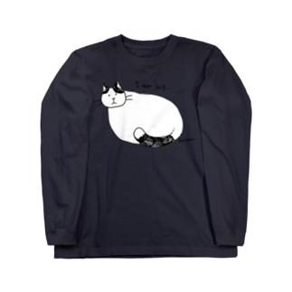 おおきなねこ Long sleeve T-shirts