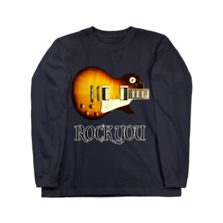 ROCK YOU 背景透過 Long sleeve T-shirts