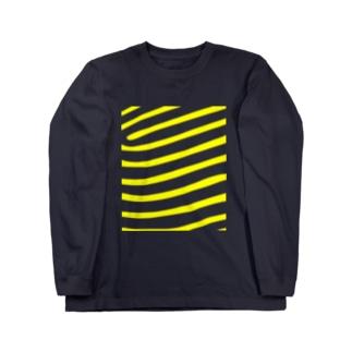 タテジマキンチャクダイ Long sleeve T-shirts