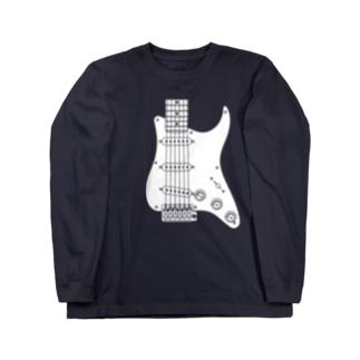 ギター Long sleeve T-shirts