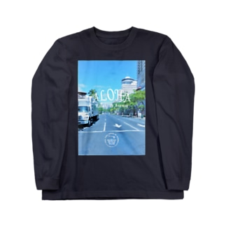 Kalakaua Ave. Long sleeve T-shirts