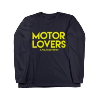 MOTOR LOVERS  Long sleeve T-shirts