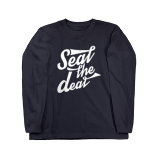 """""""Seal the deal"""" Long sleeve T-shirts"""