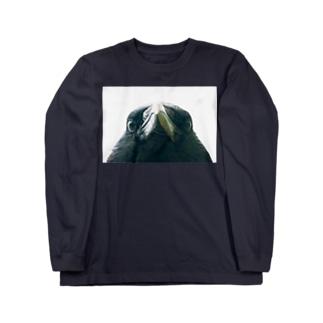 crow(カラス) Long sleeve T-shirts