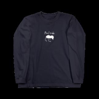 秦透哉のpoolside Long sleeve T-shirts