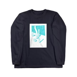 にょろの静物 Long sleeve T-shirts