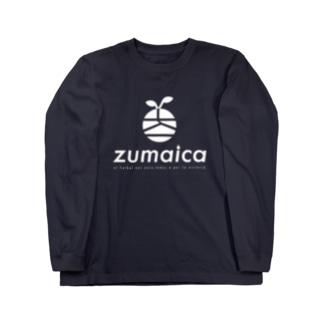 zumaica  white Long sleeve T-shirts