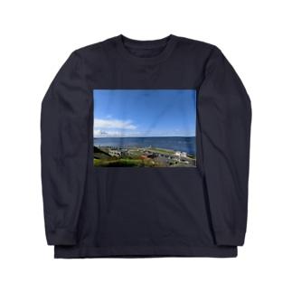 最果ての地 Long sleeve T-shirts