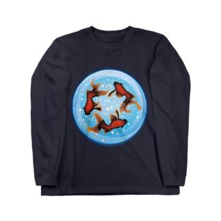 FISHBOWL Long sleeve T-shirts