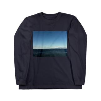 ラストブルー Long sleeve T-shirts