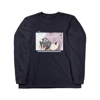 ましズカTシャツ1 Long sleeve T-shirts