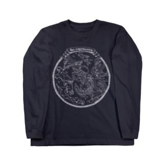 Sea constellation【クラゲ座のある海の星座】 Long sleeve T-shirts