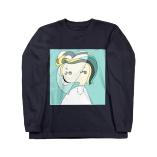 December Girl-Turquoise Long sleeve T-shirts
