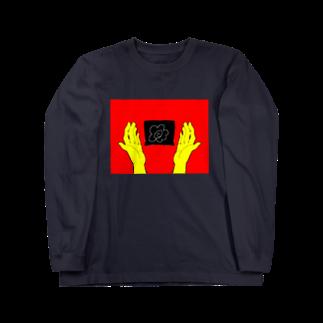 はーくゆ🐧の花丸満点(赤×黄version) Long sleeve T-shirts