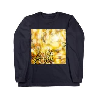 木色 Long sleeve T-shirts