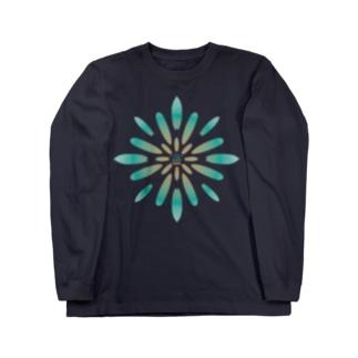 SURF FLOWER Long sleeve T-shirts