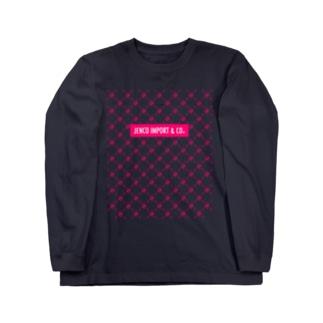 JENCO IMPORT & CO.のJENCO 2019AW_MONOGRAM Long sleeve T-shirts