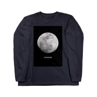 月(フルムーン) Long sleeve T-shirts