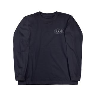 宣伝用(QRコード付き) Long sleeve T-shirts