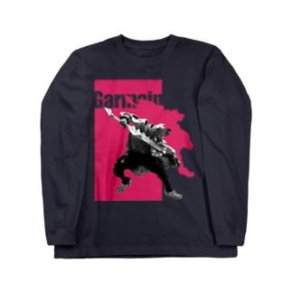 ジャンピングG Long sleeve T-shirts
