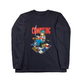 COMPOSING Long sleeve T-shirts