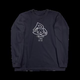 兎猫庵のPTA-w 文字入り Long sleeve T-shirts