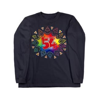 もっと主張強めの54マーク・フチあり Long sleeve T-shirts