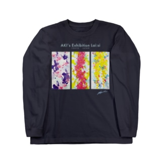 蝶々シリーズ Long sleeve T-shirts
