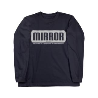 MIRROR Long sleeve T-shirts