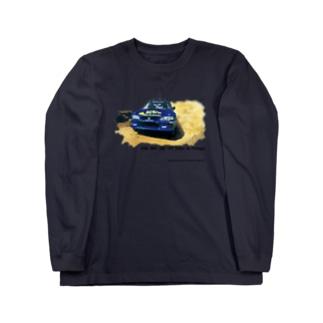 1998年スバルインプレッサ555WRC  Long sleeve T-shirts