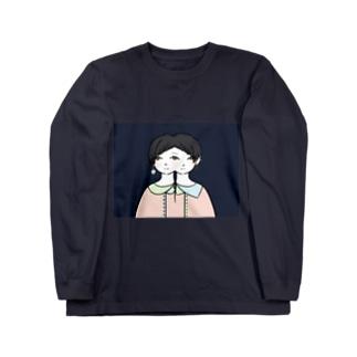 三つ目子 Long sleeve T-shirts