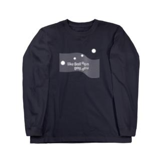PRINTED 'like Balloon' ハリジロウ Long sleeve T-shirts