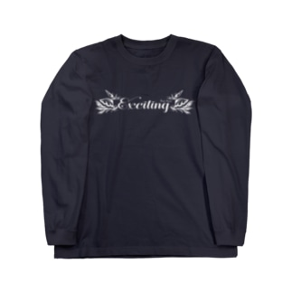 Exciting(WHITE) Long sleeve T-shirts