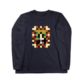 モザリナの肖像画 Long sleeve T-shirts