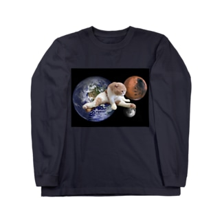 宇宙のMATAWARI Long sleeve T-shirts