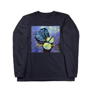 ヒラミレモン(シークワーサー) Long sleeve T-shirts