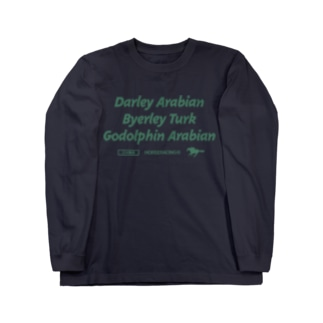 三大始祖 Long sleeve T-shirts