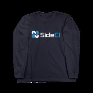 SideCI 公式グッズショップのSideCI White Long sleeve T-shirts