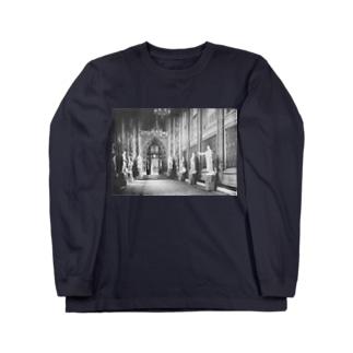 ウェストミンスター宮殿<アンティーク・フォト> Long sleeve T-shirts