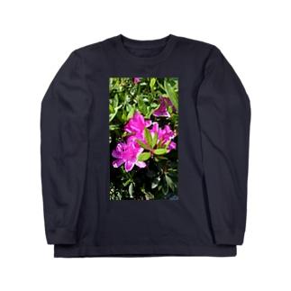 つつじのお花 Long sleeve T-shirts