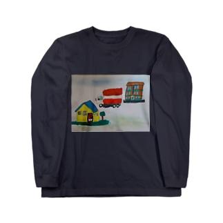 引っ越し Long sleeve T-shirts