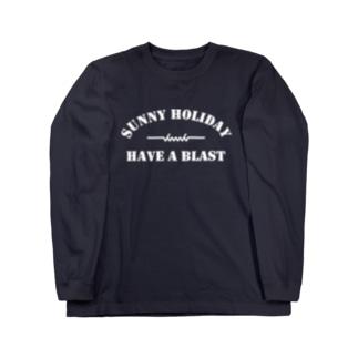 dacci ホリデイ(白) Long sleeve T-shirts