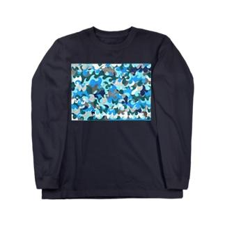 ナミナミナミ〜 Long sleeve T-shirts