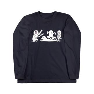 【なにか】カルテット Long sleeve T-shirts