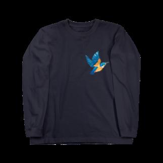 ヒフミ ヨイのカワセミ Long sleeve T-shirts